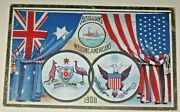 Pc Great White Fleet 1908 Australia Welcome Americans New South Wales
