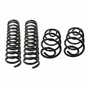 Lesjofors Front Std And Rear Hd Coil Springs Kit For Chevy Chevelle 1972 4.1 6l