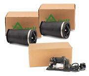 Arnott Rear Air Suspension Springs And Compressor Kit For Bmw E61 5-series Wagon
