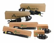 Arnott Reman Front And Rear Air Struts Shocks New Rear Springs Kit For W211 W219