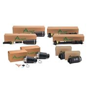 Arnott Front Air Struts Rear Shocks And Springs Kit For Mb X164 Gl-class Airmatic