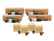 Arnott Front And Rear Suspension Strut Assembly And Sensor Kit For Mercedes W220