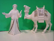 Lenox China Jewels Standing Camel Wcamel Master Nativity New N Boxes 1st Quality