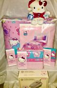 Vintage Sanrio Hello Kitty 1990's Rare Set New/never Been Opened Collection
