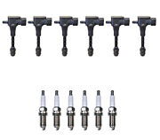 Denso 6 Ignition Coils And 6 U-groove Spark Plugs 0.044 Kit For Infiniti 3.5 V6