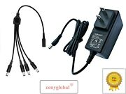 Ac Adapter For Lemax Lighted Access 74706 Christmas Village 1 24 Output Jacks