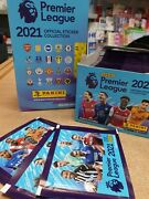 Panini Premier League 2021 Official Stickers Choose 10, 25, 50 Or 100 Packs
