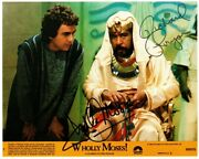 P-richard Pryor/dudley Moore Autographed Photo From Wholly Moses W./coa