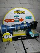 Minions The Rise Of Gru Fart N Fire Blaster Gun 20+ Sounds Farts Laughs Movienew