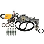 🔥engine Timing Kit W/ Water Pump And Thermostat Spark Plugs Kit For Honda Acura🔥