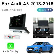 Android 10 Car Gps Navigation Head Unit + Wireless Carplay For Audi A3 2013-2018