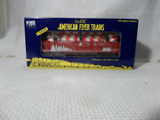 American Flyer Christmas Gondola With Candy Canes 6-48553 New