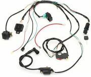 Wiring Harness Loom Solenoid Coil Rectifier Cdi For 50-125cc Atv Quad Dirt Bike