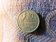 Collectable French France Coin 1951 10 Francs Rooster