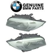 Genuine Pair Set Of Front Left And Right Headlights For Bmw E82 E88 128i 135is New
