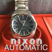 Nixon Limited Authentic Black Watch Unused New Real Wristwatch From Jp No.192