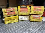 Lot Of 8 Chesterton Stationary And Rotary Seal Rings