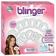Blinger Brilliance Color Refill Set Includes 180 Round Gems Variety Of 12 Colors