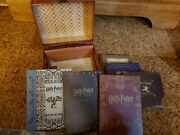 Harry Potter Years 1-5 Blu-ray Dvd 7-disc Set Trunk Chest Box