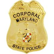 Maryland State Police Badge Pin 1