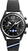 Bell And Ross Vintage Original Limited Edition Menand039s Watch Brv126-bl-ca-co/us