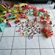 55+ Littlest Pet Shop Animals With Accessories And Structures Lot