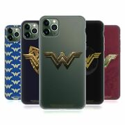 Official Wonder Woman Movie Logos Soft Gel Case For Apple Iphone Phones