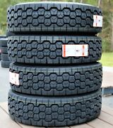 4 Tires Leao D955 245/70r19.5 Load G 14 Ply Drive Commercial