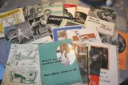 Vintage Aetna Engineer Department Life Insurance Lot Of 240 Ads 8.5 X 11 -
