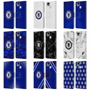 Official Chelsea Football Club Crest Leather Book Case For Asus Zenfone Phones