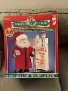 Telco Motionette 17 Inch Santa's Midnight Snack ..christmas..animated.. New Box