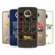 Official Back To The Future I Graphics Soft Gel Case For Motorola Phones