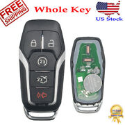 For 2015 2016 2017 Ford Edge Explorer Mustang Smart Car Remote Control Key Fob