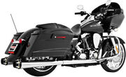 Freedom American Outlaw Chrome Dual Motorcycle Exhaust 09-15 Harley Touring Flhx