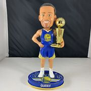 Serial 243 Stephen Curry Golden State Warriors 2015 Nba Champ Trophy Bobblehead