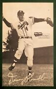 1954-56 Spic And Span Danny O'connell Postcard Milwaukee Braves