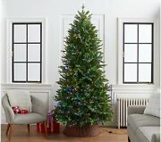 Home Reflections 9and039 Christmas Green Tree Color Flip Fairy Lightsmulti And Clea