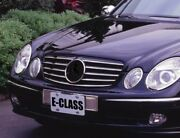 Front Grille Black-chrome 5 Fins For And0392003-and0392006 Mercedes W211 E-class Cl Style