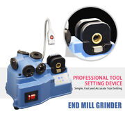 Sfx End Mill Grinder Sharpener 2-12mm Universal Cutting Tool Cutter 7pc Collets