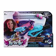 Nerf Rebelle Secrets And Spies Courage Crossbow With Whistling Darts- New/sealed