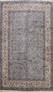 Vegetable Dye Floral Ardakan Chinese Oriental Area Rug Hand-knotted Wool 9and039x13and039