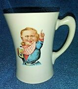 Antique Hires Root Beer Advertising Mug/cup Cauldon Ware Englandearly 1900and039s