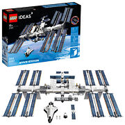 Lego Ideas International Space Station 21321-guaranteed Arrival Before Christmas