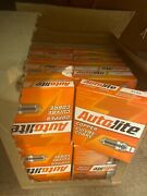 Lot Of 24 Pack Of 4 Autolite 5125 Copper Resistor Spark Plugs, 96 Total