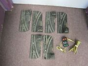3 Pair American Flyer 720 Switches And 1 720a Switch Controller