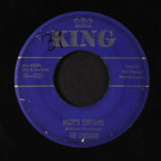 Checkers Night's Curtains / Let Me Come Back King Records 3 7 Single 45 Rpm