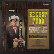 Ernest Tubb Country Hits Old And New Decca 12 Lp