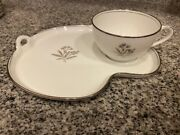 Beautiful Noritake Bessie Teapots, Tea Sets And Snack Tray Sets