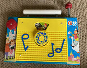 Andldquofisher Price Classic Toys Tv Radio Musical Box The Farmer In The Dell Song Andldquo