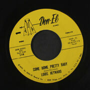 Louis Heyward Going Back To The Southland Don-el Records 7 Single 45 Rpm